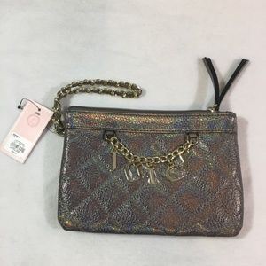 Juicy Couture Pewter Chain Wristlet